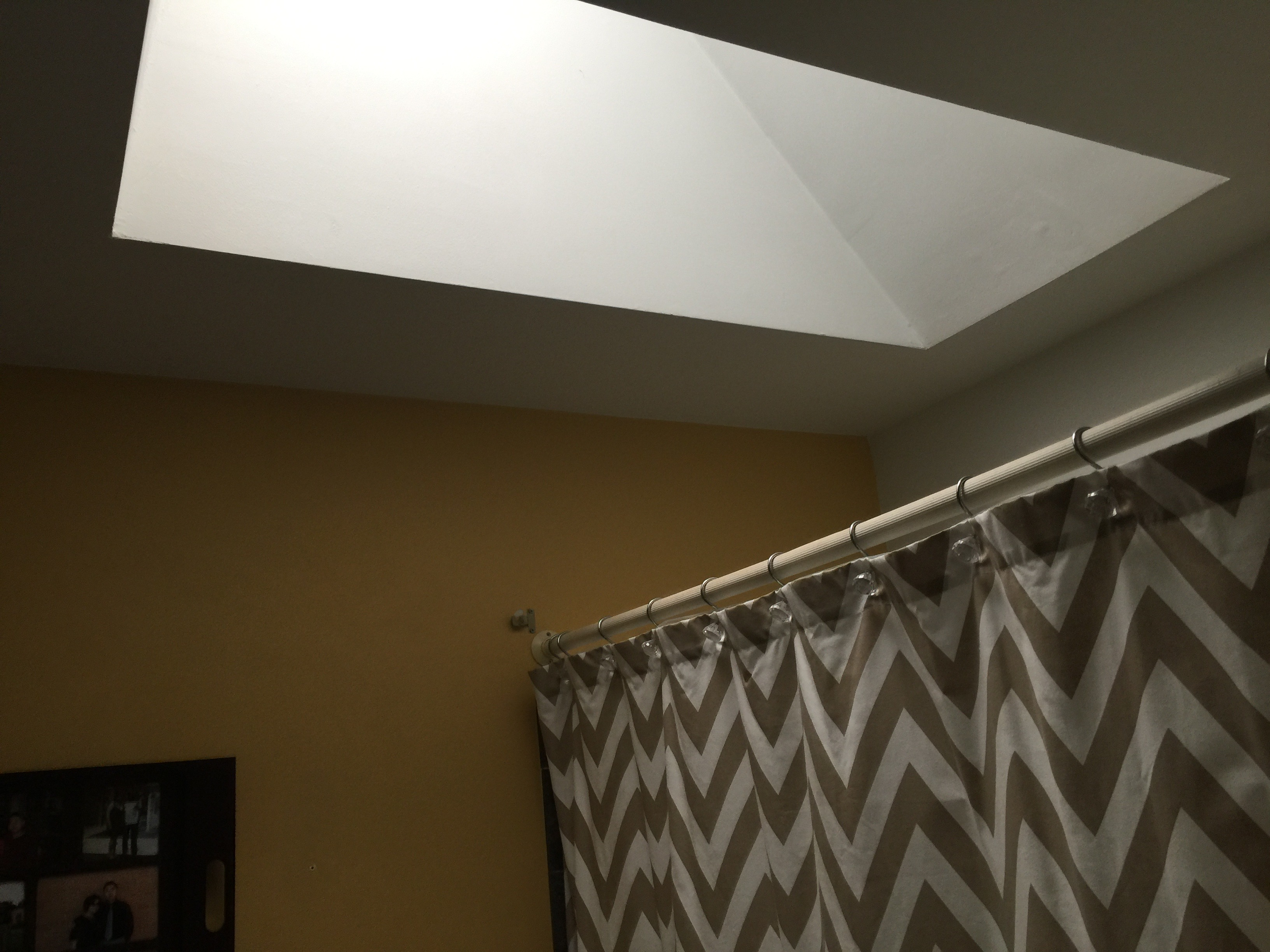 Master bath skylight